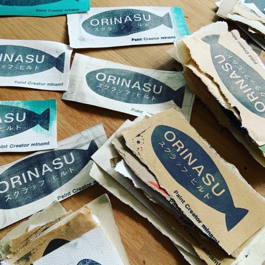 ORINASUスクラップでビルド、アップサイクル、SDGs
